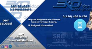 Beykoz SRC Belgesi